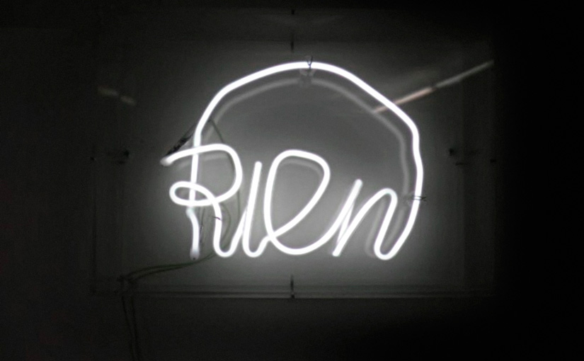 Jean-Michel Alberola, Rien (blanc), 1994-2009, courtesy Galerie Daniel Templon