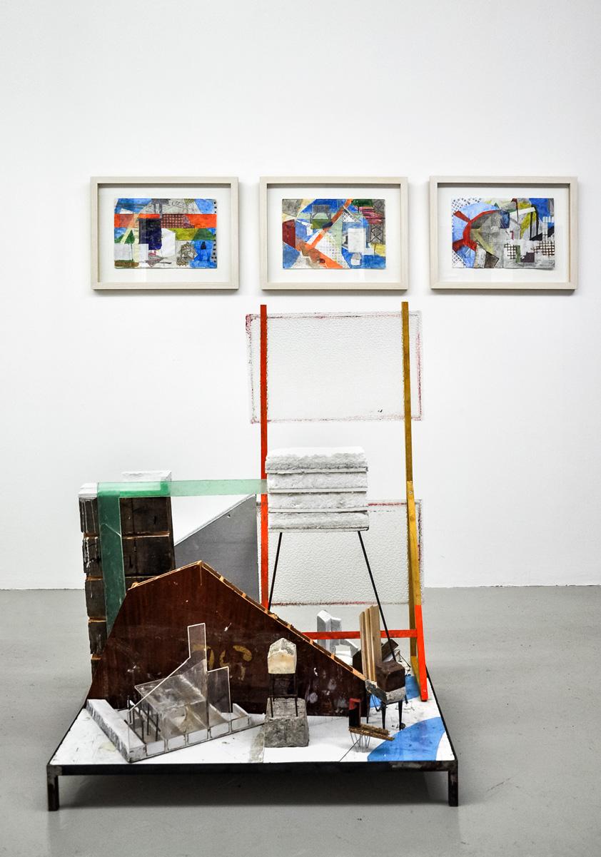 Wandrille Duruflé, Série Dérive, 2011 & Sans Titre, 2011