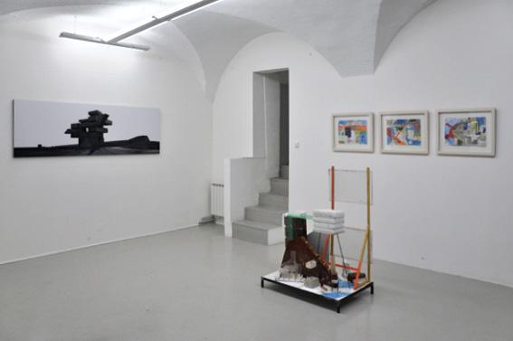 Nicolas Moulin, Wenduderwind 4, 2010, courtesy Galerie Chez Valentin; Wandrille Duruflé, Série Dérive, 2011 & Sans Titre, 2011